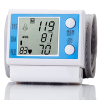 Portable Home Care Automatic Wrist Electronic