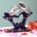 Romantic type wedding decoration & gift design artificial resin craft
