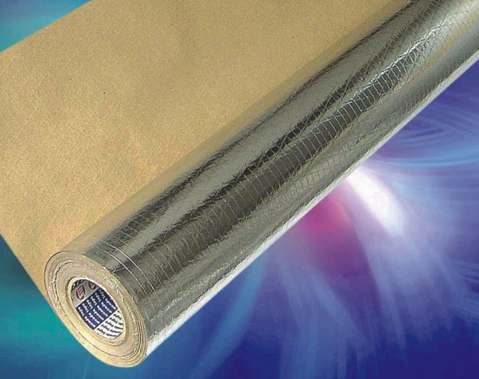 Heat-sealing foil scrim kraft
