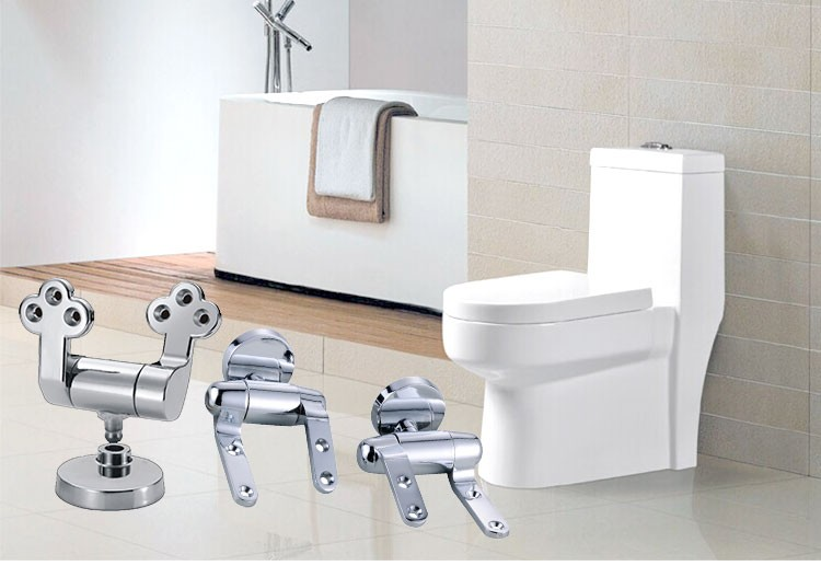 Design own stainless steel toilet seat metal hinge P-810