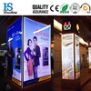 Hot sale wall mounted Al frame customized size slim indoor led light box