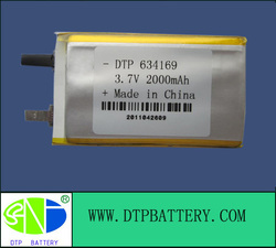 12volt dry cell battery 2000mah 634169