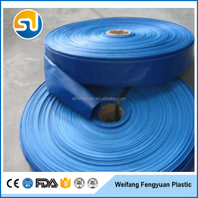 PVC agriculture discharge irrigation lay flat hose
