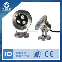 3W 12V LED Underwater Light Flood Lamp Waterproof IP68 Fountain Pond Landscape Lighting