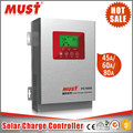 Must Factory fangpusun solar charge controller MPPT PWM 50A 60A solar charger