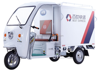 Mexico adult electric cargo tricycle for delivery manufacturer in china