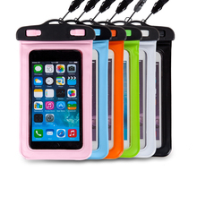 Waterproof stylish cut mobile phone pouch