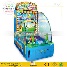 NQT-D01 double players kids water shooting arcade game machine for sale