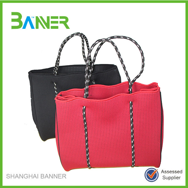 Trendy Recycle Customized Neoprene Shopping Bag