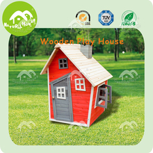 Promotion! wooden outdoor playhouse, cheap wood house