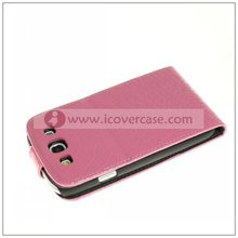 mobile phone leather pouch case for samsung galaxy s3 i9300 ,cell phone case