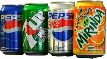 Pepsi, 7up, Mirinda, Dew, Shani (Soft Drinks)