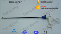 Disposable Laparoscopic Grasper with Ratchet Atraumatic grasping forceps