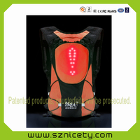 2016 Newest Backpack bag With Safety LED Indicator Light Backpacks For Hiking/Biking Outdoor Travel Sports YKBB0521