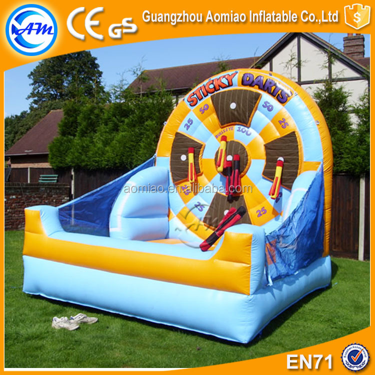 2016 giant inflatable dart board funny kids dart board inflatable for sale