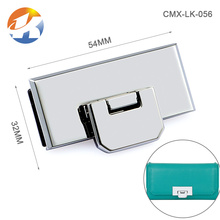 High Grade Accessories Metal Clasp Hardware Bag Lock