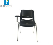 Student Conference Furniture Ergonomic School Chair With Writing Pad