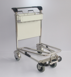 Airport trolley brakes