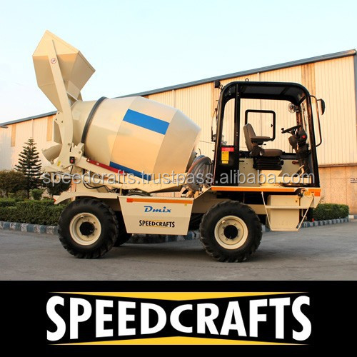 Small and Large Size Self-Loading Concrete mixer machine at very Low price
