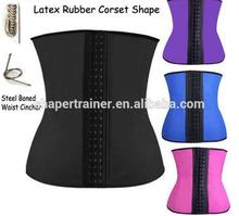 New design latex waist trainer sexy suit with great price