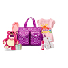 Hot selling high capacity multifunction travel shoulder baby diaper bag mummy bag