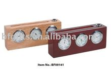 Wood table clock:BF09141