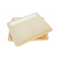 9inch Disposable Wooden Food Serving Plates