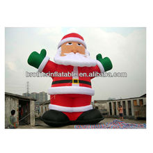 2012 Hot Christmas Inflate Santa Decoration