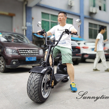 Sunnytimes Manufacture Max Speed 50KM/H Two Wheels Electric Scooter 800w Citycoco Self Balancing For Adult 60V Lithium Battery