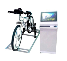 Bicycle VR simulator machine riding on bike games Virtual reality games