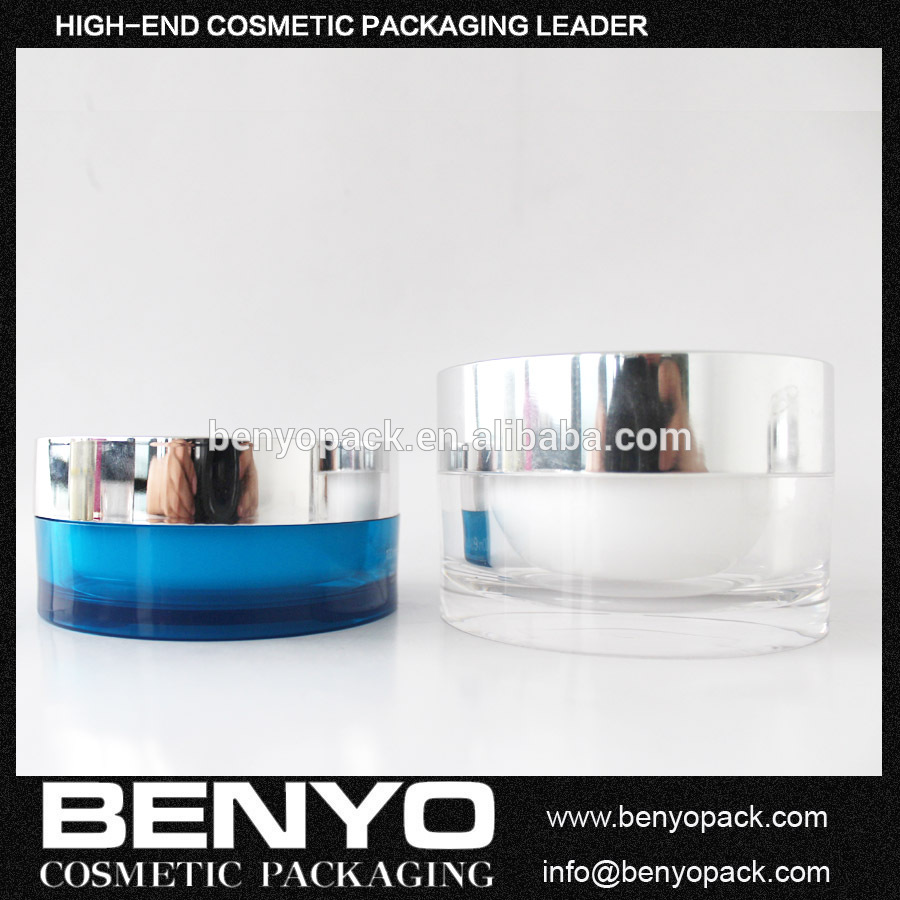 Fast Delivery Clear Cosmetic Jars for Cream Mask