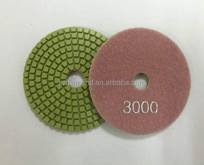 High efficiency 4-8inch diamond grinding stone polishing pads for sale