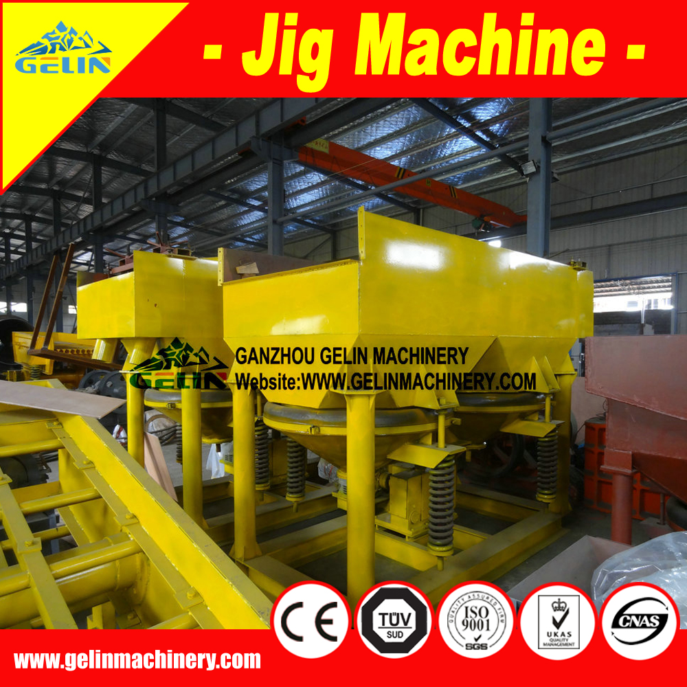 Competitive Price High Recovery Gold,Tin,Titanium, Iron Ore Sand Mining Jigger Machinery