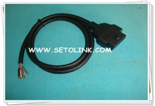 2014 NEW PRODUCT OBD 16PIN CABLE TO OPEN END J1962 CABLE