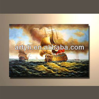 Popular modern handpainted hang on wall painting