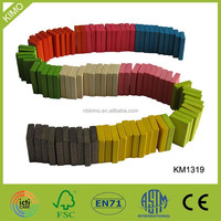 Customized Colorful Wooden Domino