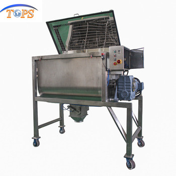 Agitator Mini Paddle Horizontal Ribbon Mixer/pvc Powder Plastic Mixing Machine