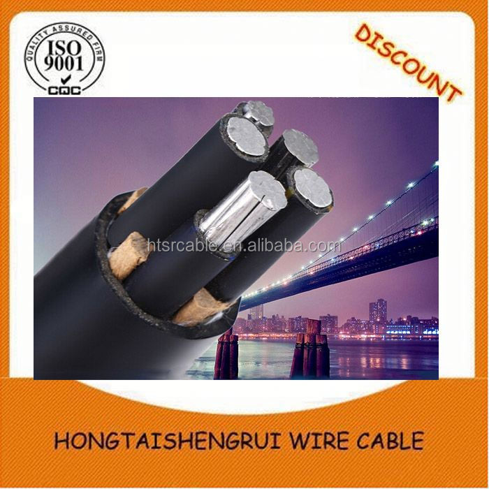 Electric power bare copper stranded high voltage cable joint