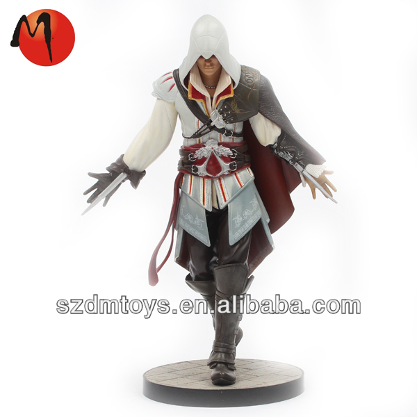 Make customized assassin's action figure maker/factory