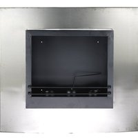 Stainless Steel Coal Burning Fireplace OL