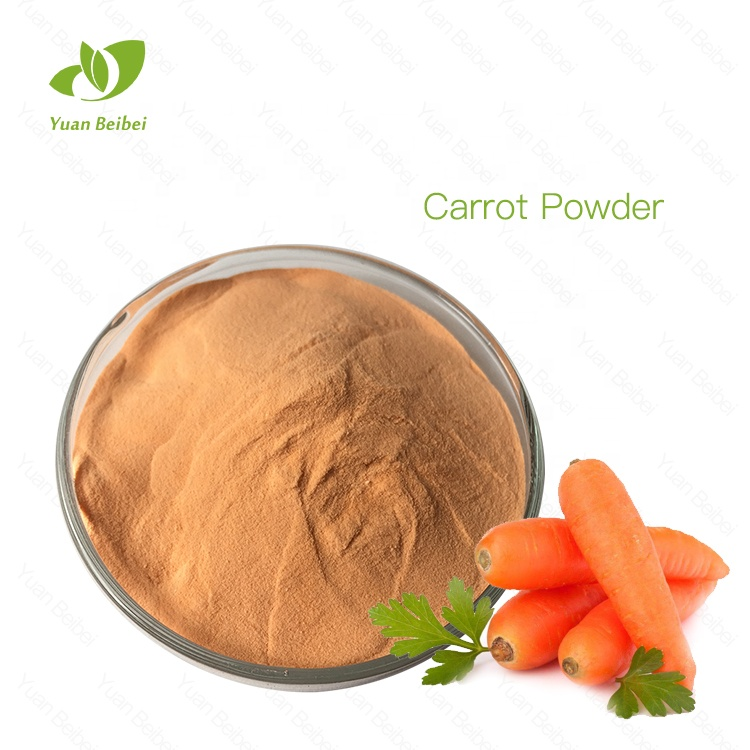 100% pure <strong>natural</strong> dissolved in water carrot powder