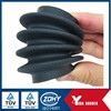 Flexible corrugated rubber bellows costimized accordion rubber bellows