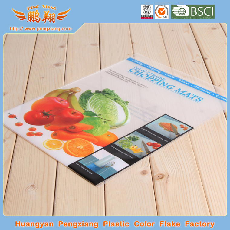 plastic flexible thin chopping board
