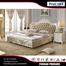 Factory direct sales all kinds of wood double bed designs