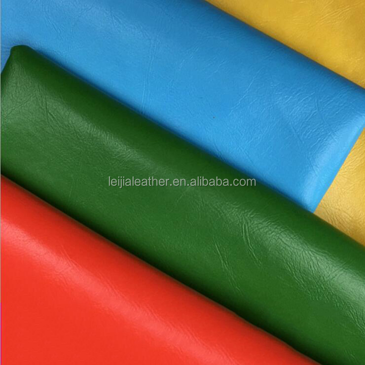 pu synthetic leather fabric for making furniture decorative sofa rexine