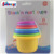 Baby Frist Educational Toy Rainbow Stacking and Nesting Cups Stack Up Cups Set
