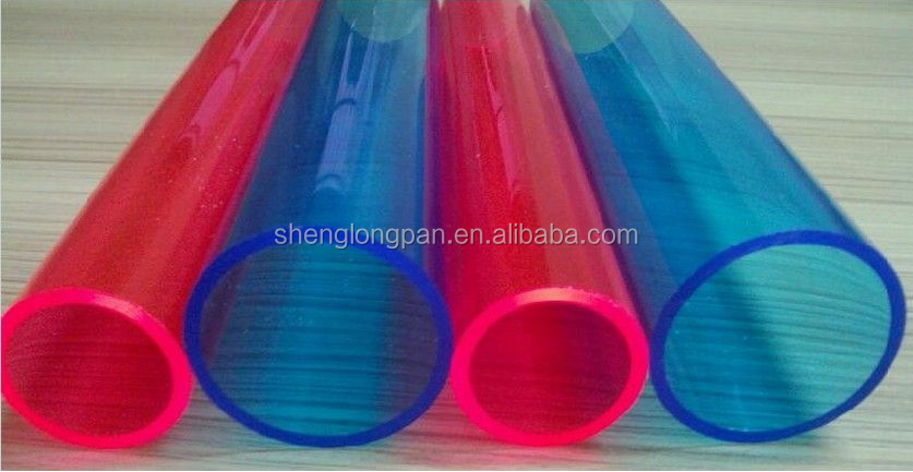 large diameter translucent and clear top quality acrylic tube with competitive price