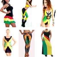 Newly Launched Rasta Gear Reggae Bob Marley Jamaican Clothing Cool American Hippie Clothing