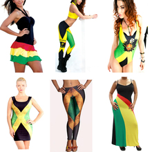 Newly Launched Rasta Gear Reggae Bob Marley Jamaican Clothing Cool American Hippie Clothing