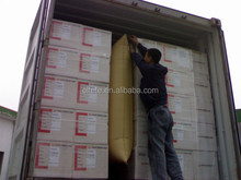 Brown cargo dunnage air bag for container